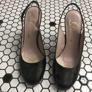 Vintage Delman heels size 8